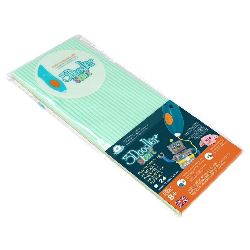 3d Printers & Supplies 3doodler Start Aqua Mint Eco Filament