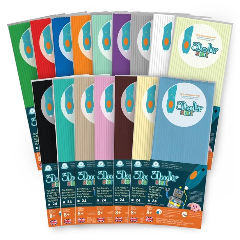 3doodler Start Aqua Mint Eco Filament 3d Printers & Supplies 3d Printer Consumables