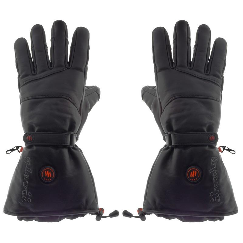 Lämmitetyt nahkaiset hiihtokäsineet, GS5