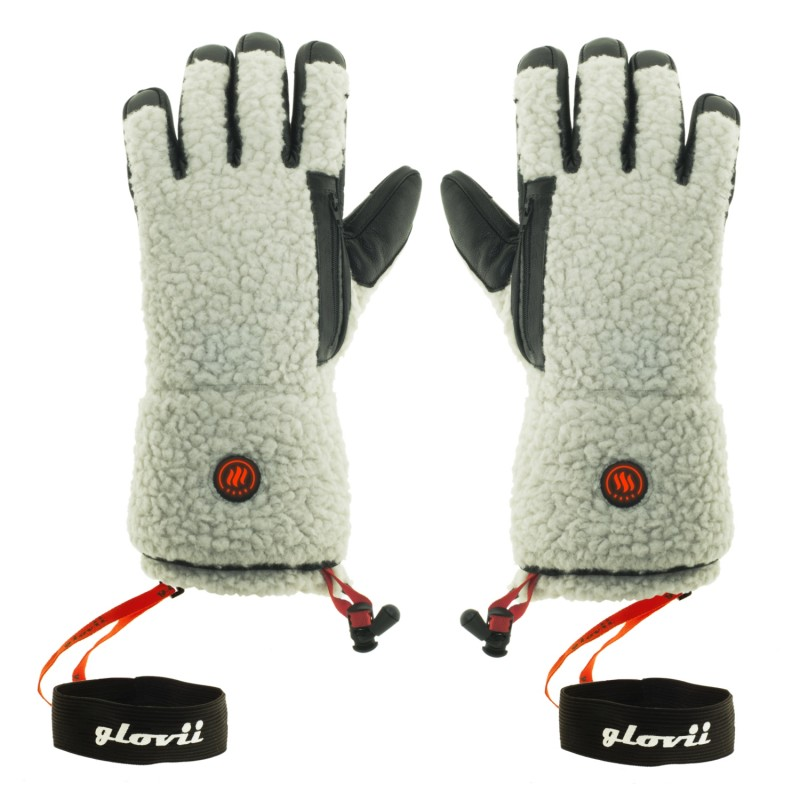 Beheizte Handschuhe im Lammfell-Stil, GS3